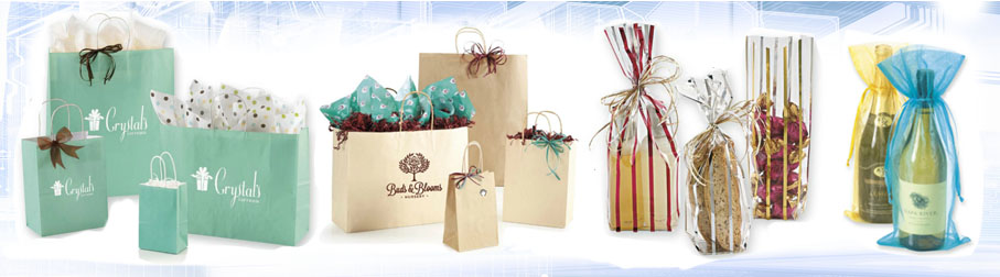 Signature Packaging bags, boxes, gift baskets, wine bags